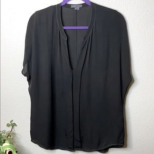 Vince short sleeve blouse in XS